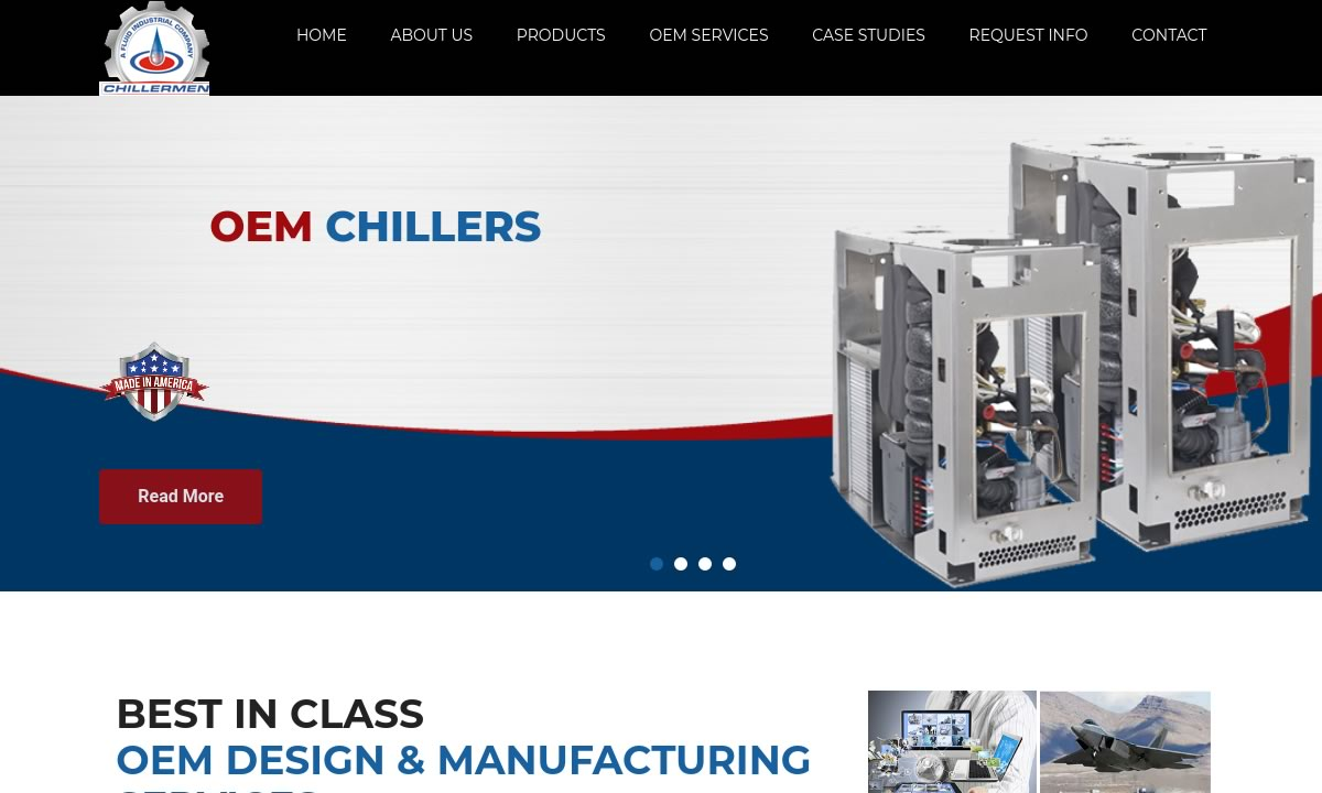 Chillermen, a Fluid Industrial Mfg. Company