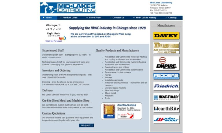 Mid-Lakes Distributing