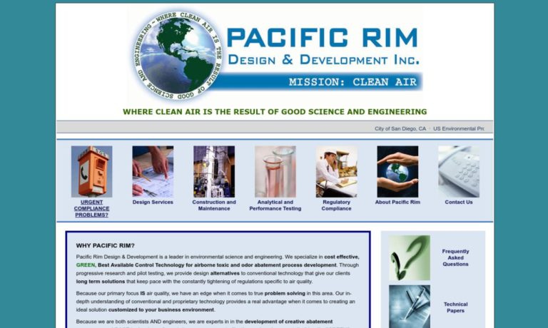 Pacific Rim Design and Development Inc.