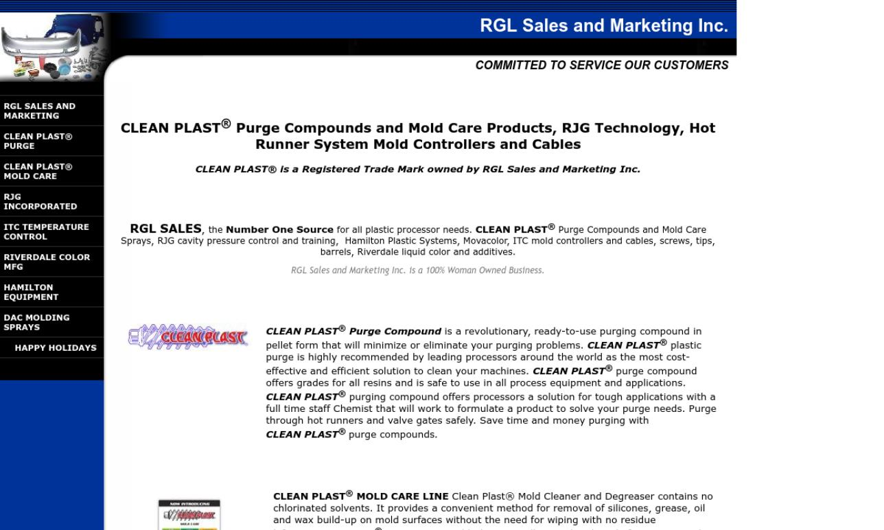 RGL Sales and Marketing Inc.
