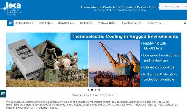 ThermoElectric Cooling America Corporation (TECA®)