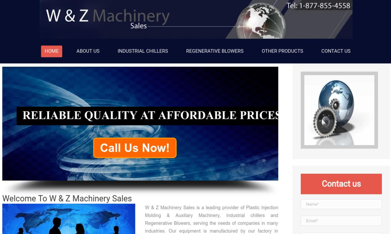 W & Z Machinery Sales