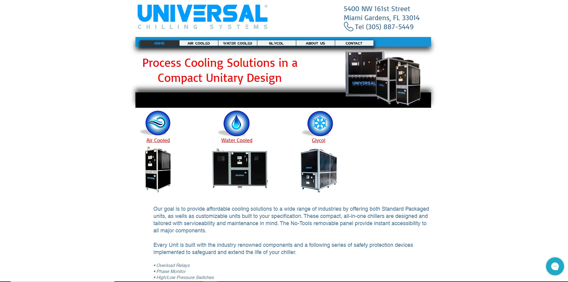 Universal Chilling Systems