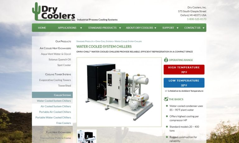 Dry Coolers, Inc.