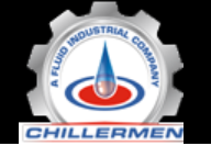 Chillermen, a Fluid Industrial Mfg. Company Logo