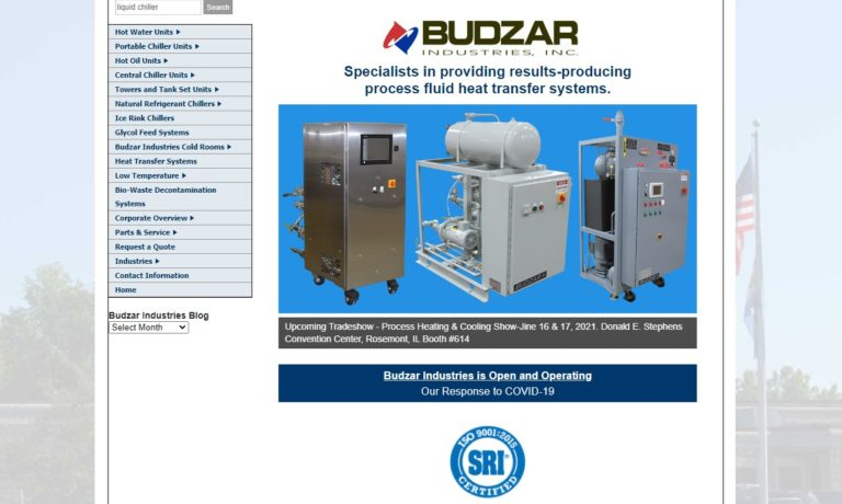 Budzar Industries, Inc.