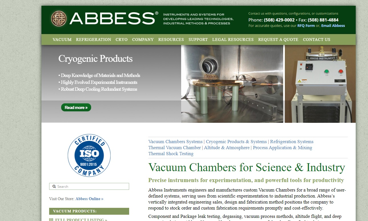 Abbess Instruments & Systems, Inc.